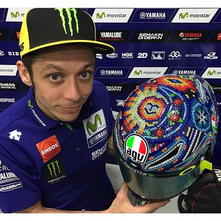 Helm Rossi 2018 Sepang Test 2.