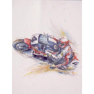 Superbike Series Lawson (Print)